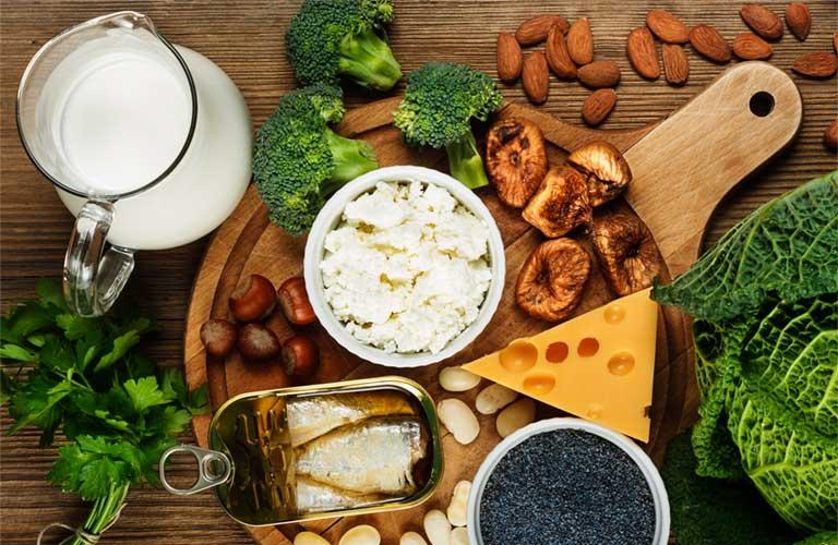 thức ăn tốt cho xương khớp