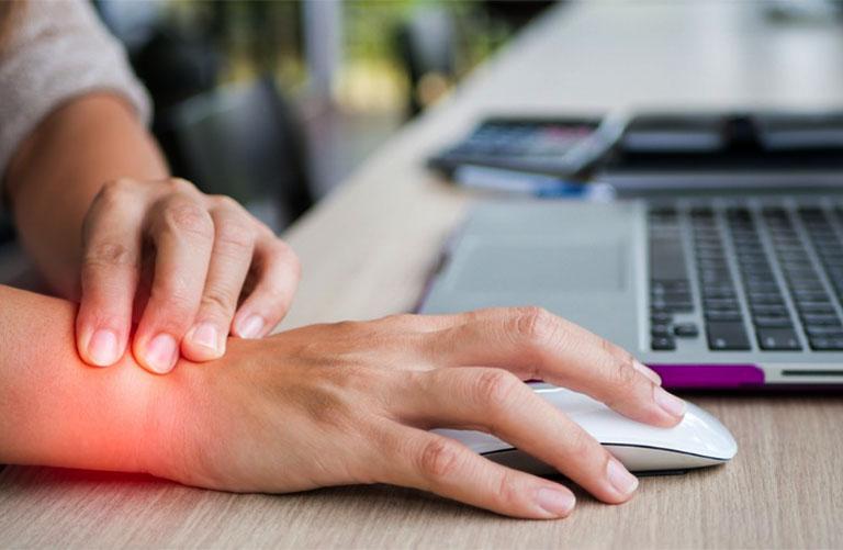 dấu hiệu bệnh hội chứng ống cổ tay