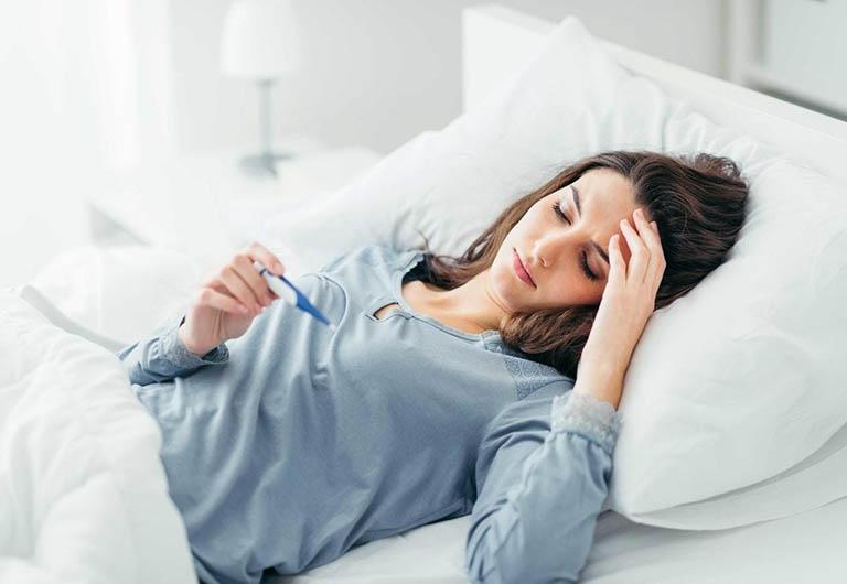 Viêm cơ, áp xe cơ nhiễm khuẩn gây sốt cao