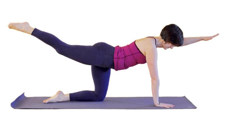 Bài tập nâng tay - chân chữa phồng đĩa đệm thắt lưng, tăng cường sức cơ và độ linh hoạt