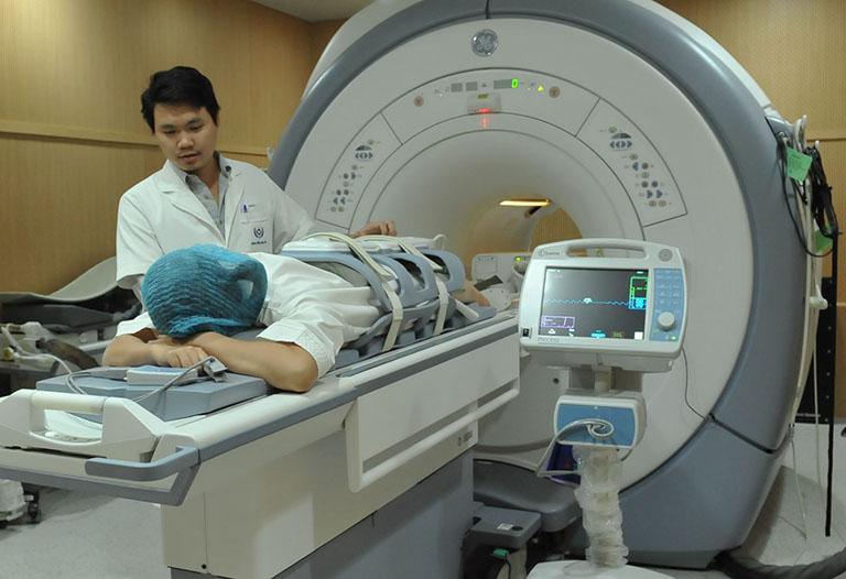 Những bộ phận được kiểm tra bởi MRI