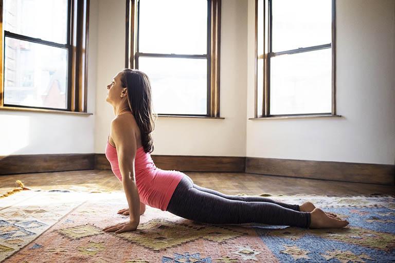 Các bài tập yoga chữa bệnh thoát vị đĩa đệm hay nhất