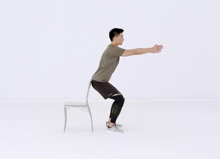 Bài tập Half squat