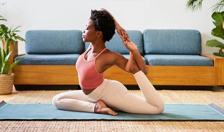 9 bài tập yoga chữa đau khớp gối đơn giản, hiệu quả