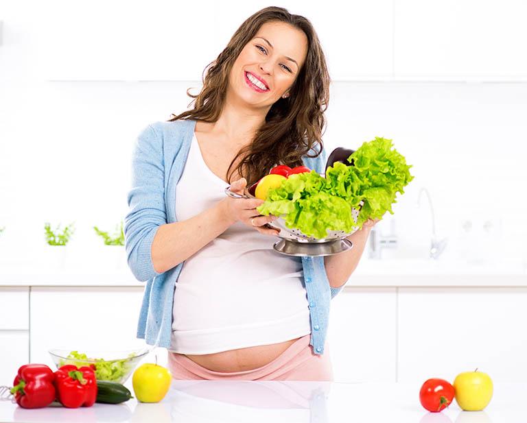 Duy trì chế độ ăn uống lành mạnh, đầy đủ dưỡng chất