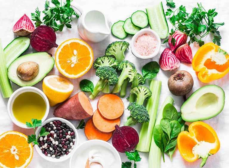 Duy trì chế độ ăn uống hợp lý