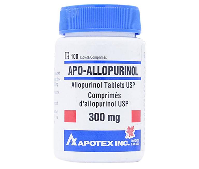 Tránh dùng thuốc bị dị ứng với hoạt chất Allopurinol