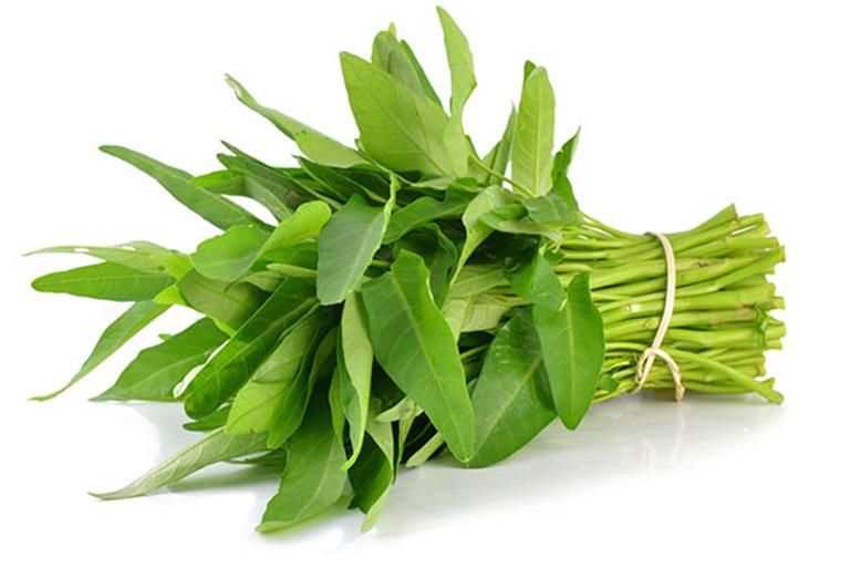 bệnh gút ăn được rau muống hay rau lang không