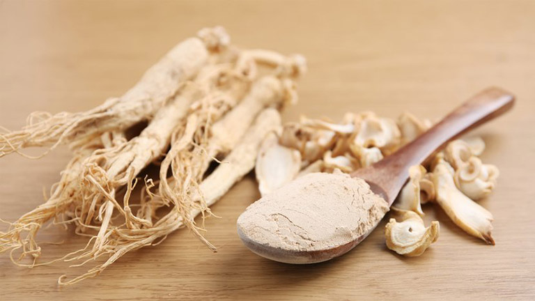 Dùng bột nhân sâm hỗ trợ điều trị bệnh gout