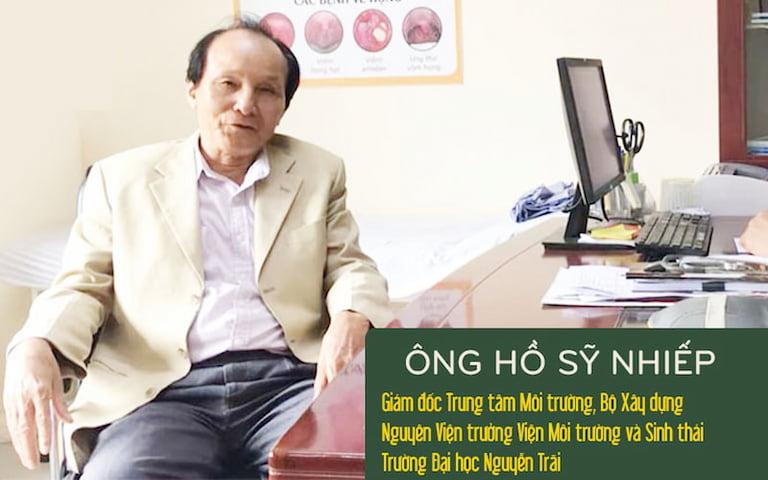 Ông Hồ Sỹ Nhiếp - Bệnh nhân cũ từng điều trị bệnh xương khớp với bài thuốc Cốt Vương thần hiệu thang