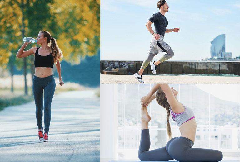 Đau thần kinh tọa có nên đi bộ, chạy bộ, tập thể dục?