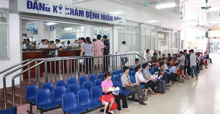 Bệnh viện Trung ương Quân đội 108 làm việc từ thứ Hai đến thứ Bảy
