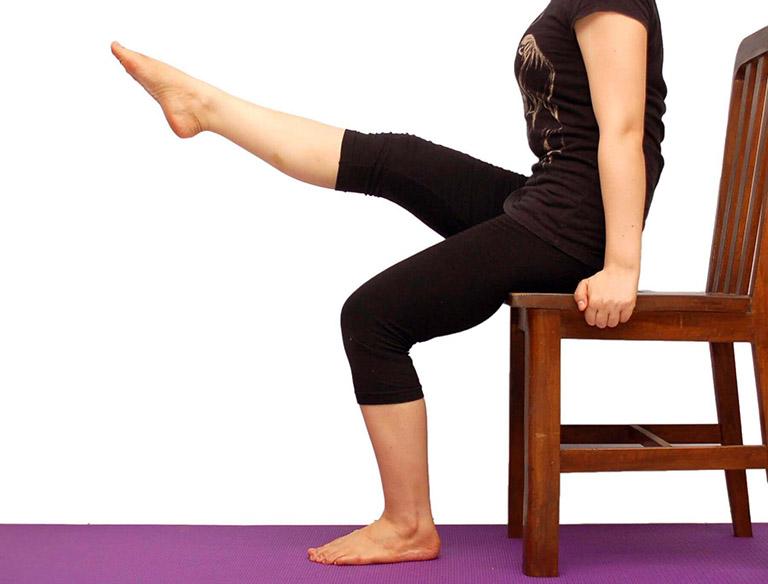 Bài tập nâng cao cơ đùi khi ngồi