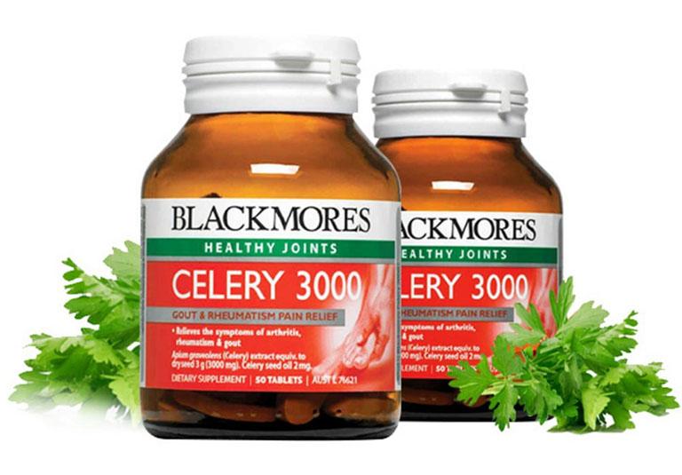 Viên uống chữa gout của Úc Blackmores Celery 3000mg