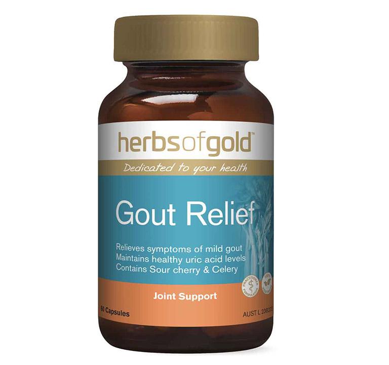 Viên uống chữa gout của Úc Herb of Gold Gout Relief