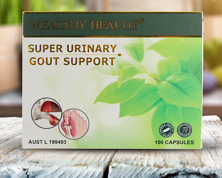 Viên uống Wealthy Health Super Urinary Gout support