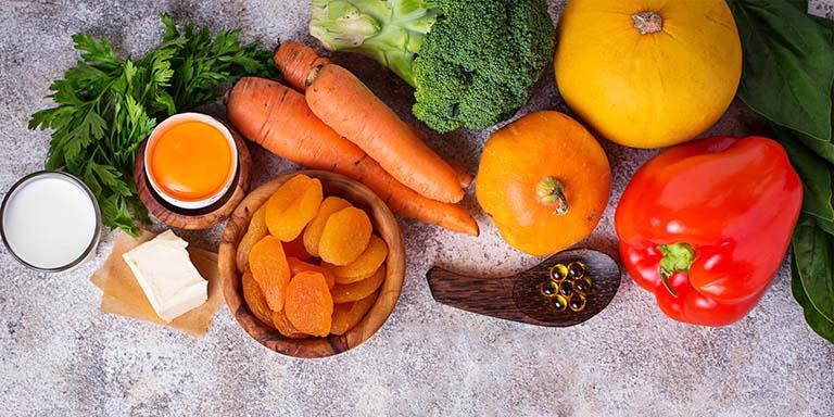 Thực phẩm giàu vitamin K, vitamin A