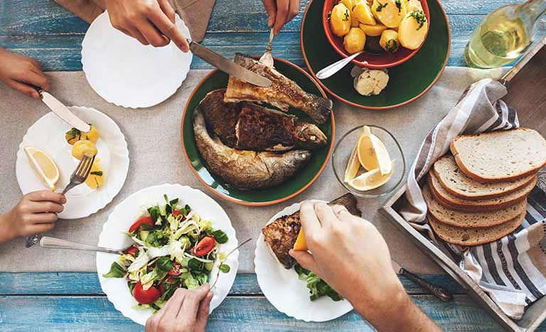 Duy trì chế độ ăn uống giàu dinh dưỡng