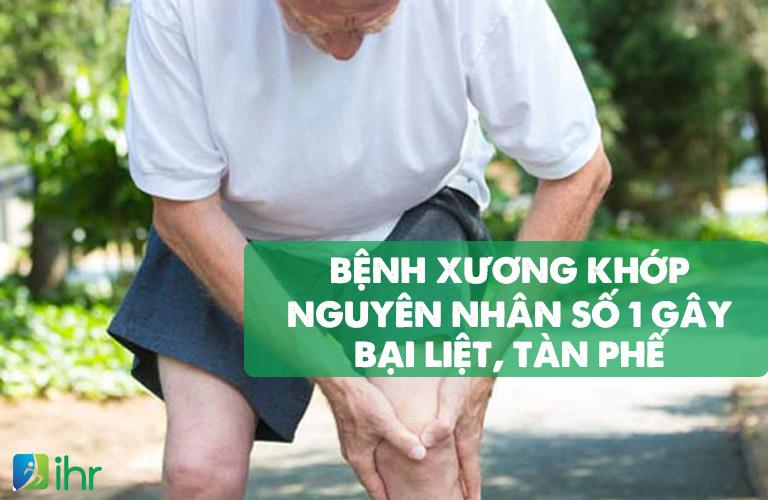 Các bệnh lý xương khớp là nguyên nhân hàng đầu làm mất khả năng vận động