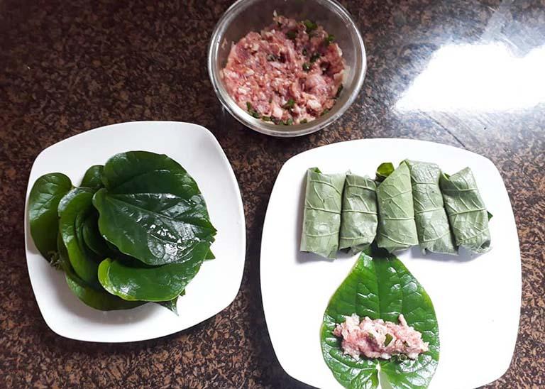 chữa đau lưng bằng món ăn từ lá lốt