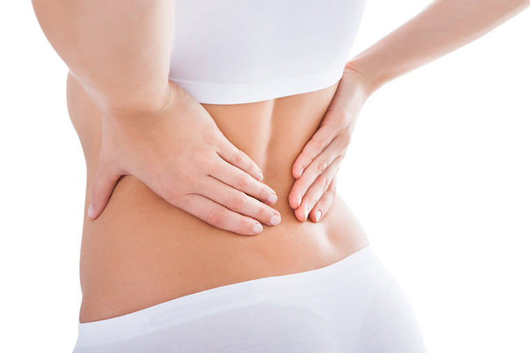 Triệu chứng đau lưng khi đến tháng