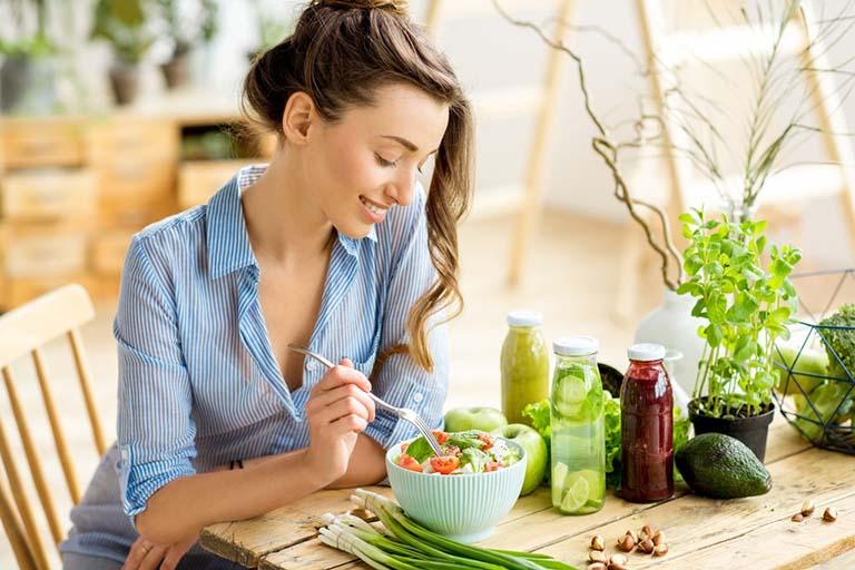 ăn uống lành mạnh sau hút thai