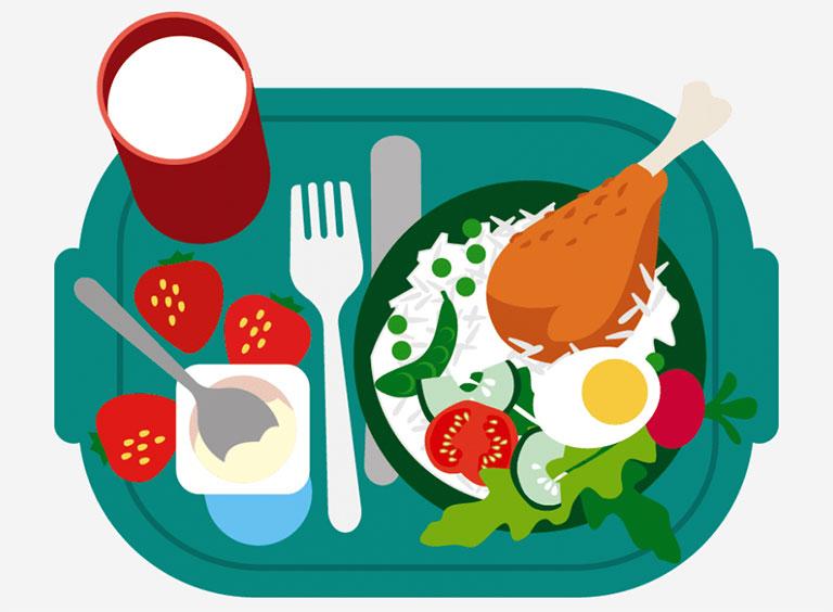 lupus ban đỏ hệ thống nên ăn gì