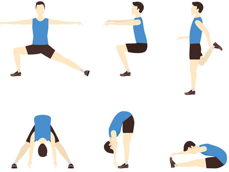Khởi động 10 phút trước khi thực hiện các bài tập tăng chiều cao cho nam