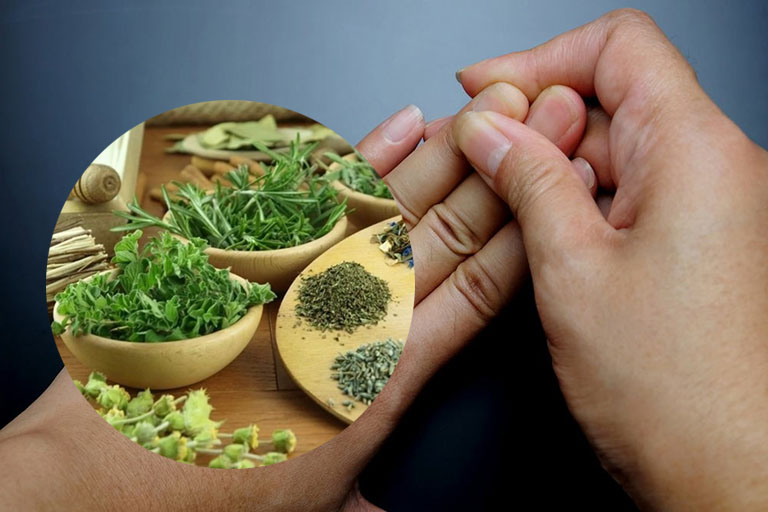 chữa đau khớp ngón tay bằng thuốc nam