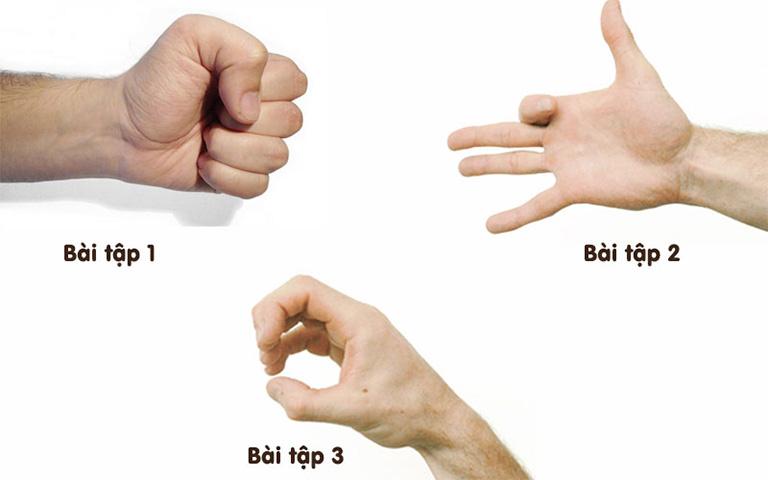 khắc phục chứng đau khớp ngón tay
