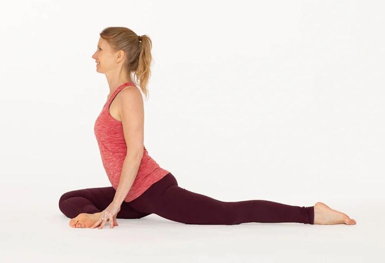 Bài tập yoga tư thế chim bồ câu