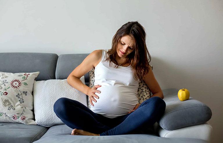 đau xương mu nhiều khi mang thai