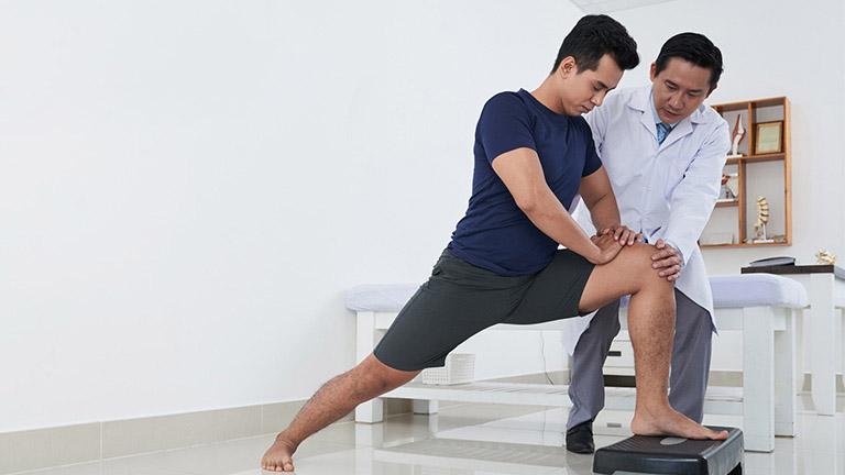 Kết hợp vật lý trị liệu mang lại hiệu quả điều trị nhanh chóng