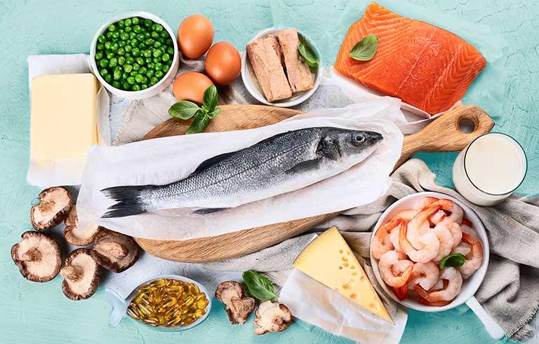 vitamin d3 có trong thực phẩm nào