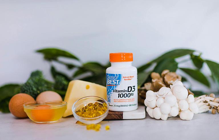 Thuốc vitamin D cho người lớn