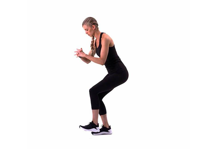 Bài tập squat 1/4 chân đơn