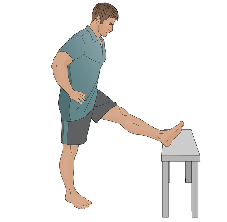 Bài tập căng chân