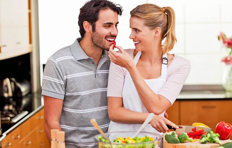 Duy trì chế độ ăn uống đầy đủ chất dinh dưỡng