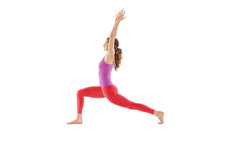 Bài tập Moving high lunge