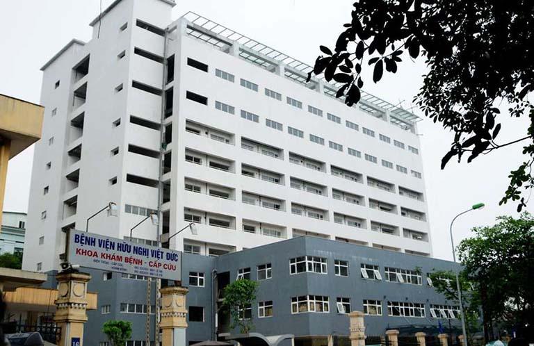 Khoa Phục hồi chức năng - Bệnh viện Hữu Nghị Việt Đức