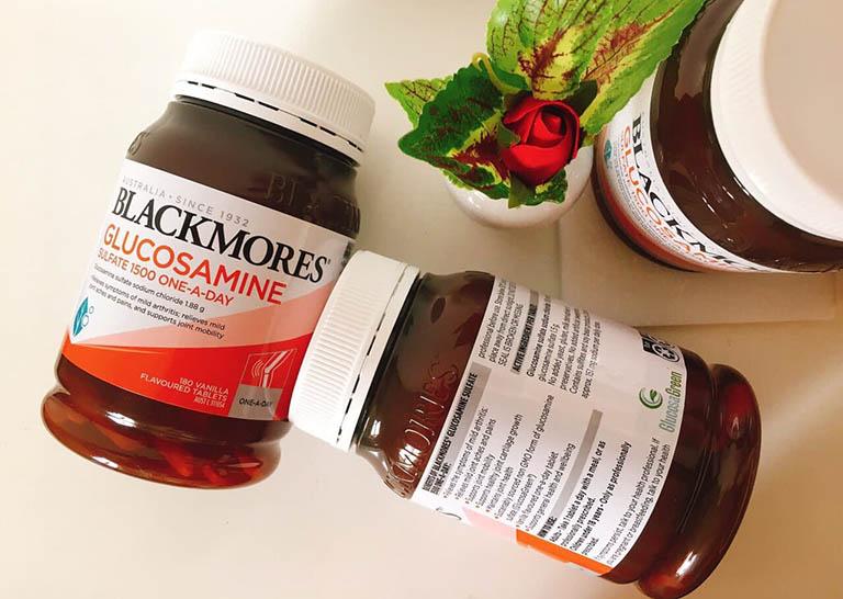 Sản phẩm Blackmores Glucosamine 1500mg có công dụng và độ an toàn cao