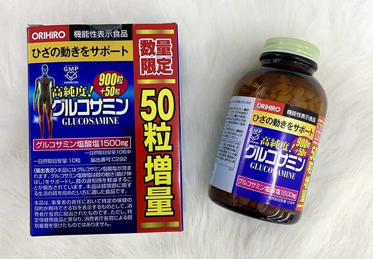 Phân biệt Glucosamine Orihiro thật và giả