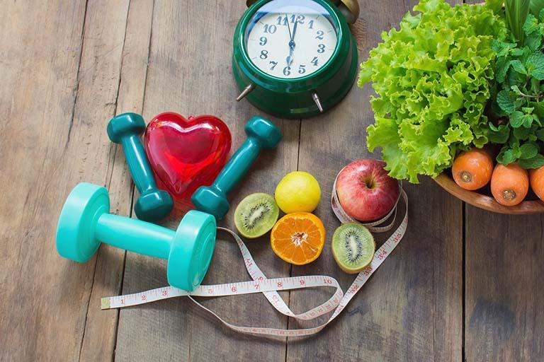 Đảm bảo trọng lượng cơ thể luôn ở mức an toàn