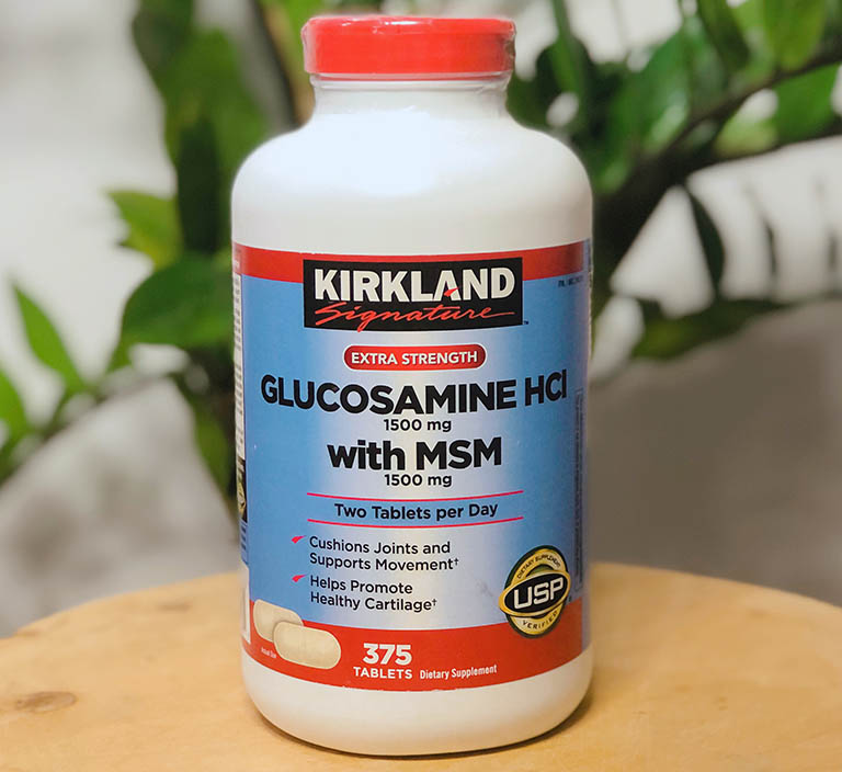 Liều dùng Kirkland Glucosamine