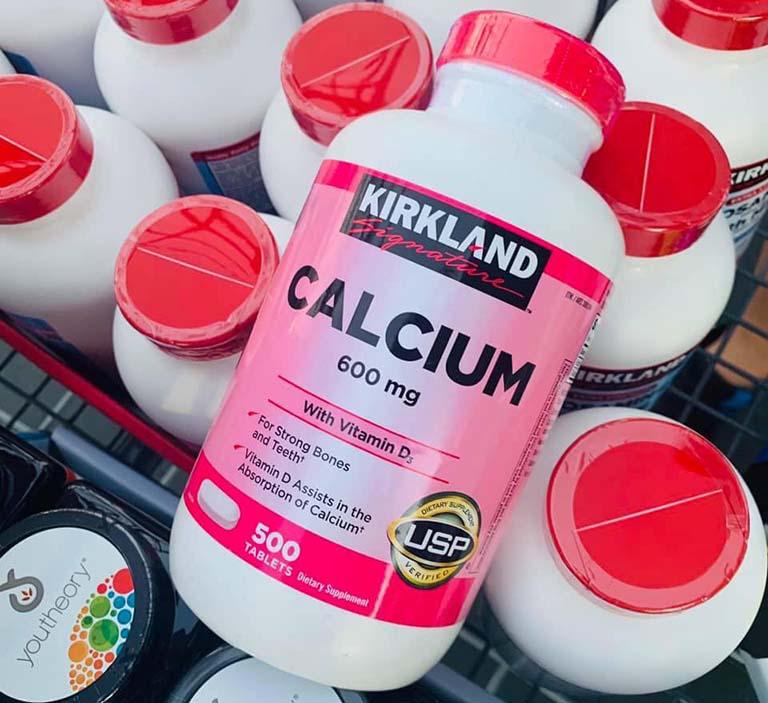 Thành phần của viên uống Calcium 600mg D3