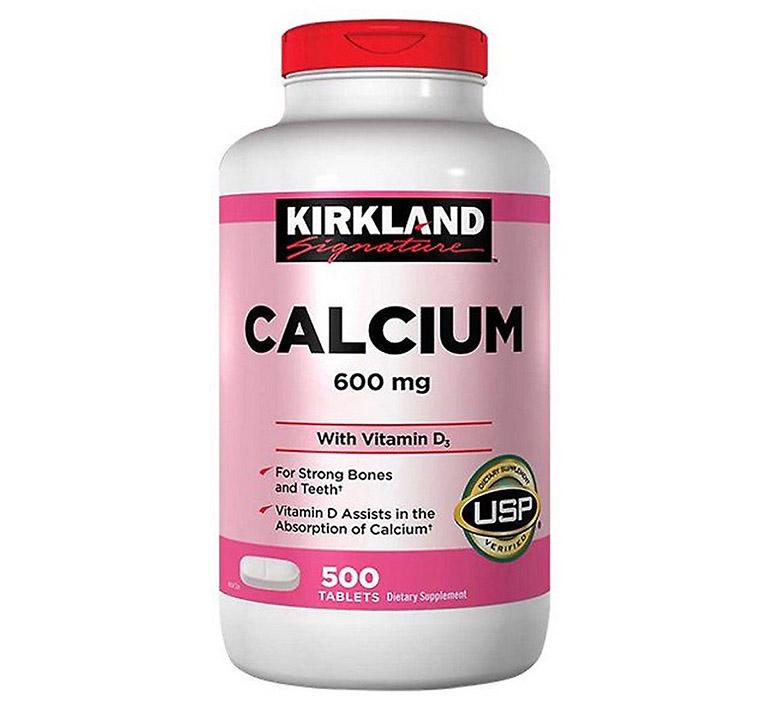 Viên uống Kirkland Calcium 600mg With Vitamin D3