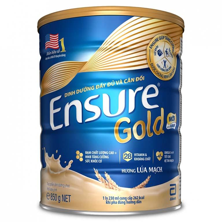 Sữa Ensure Gold có nhiều loại