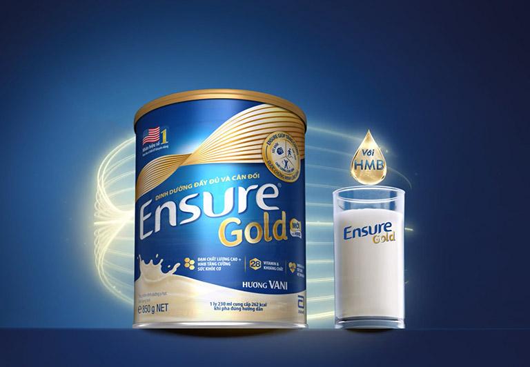 Sữa Ensure Gold cần được sử dụng đúng hướng dẫn của nhà sản xuất