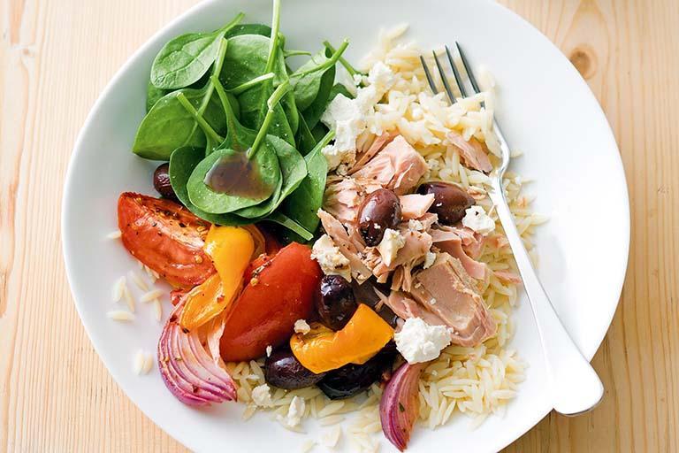Phòng ngừa thoát vị nội xốp bằng chế độ ăn uống lành mạnh