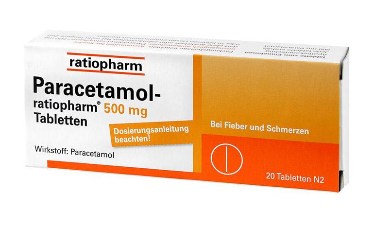 Dùng thuốc giảm đau Paracetamol để cắt giảm triệu chứng
